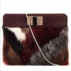 Elegant Faux Fur Clutch
